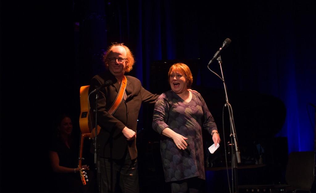 Jørn Simen Øverli og Kari Svendsen. Foto: Lasse W. Fosshaug
