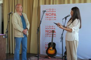 NOPA fikk et nytt æresmedlem i 2016. Lars Martin Myhre fikk utnevnelsen under generalforsamlingen 30. mai.